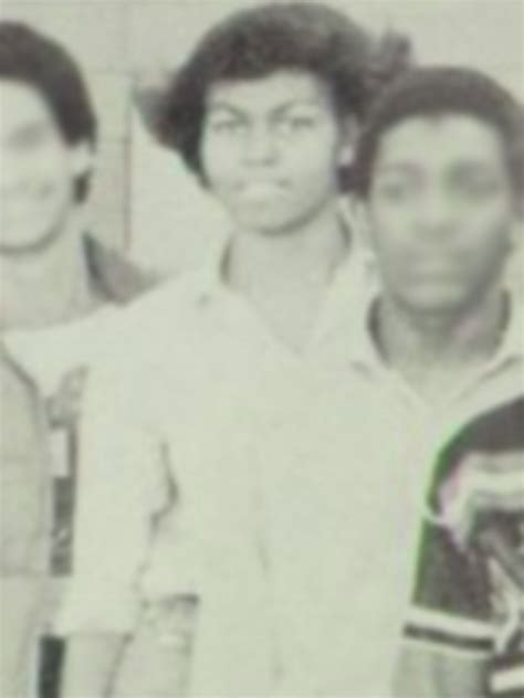 michelle obama whitney young rare yearbook photos of michelle obama from young magnet