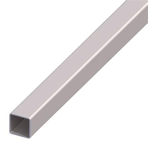 tubos cuadrados de pvc kantoflex tubos cuadrados 2 000 x 30 x 30 mm espesor 1