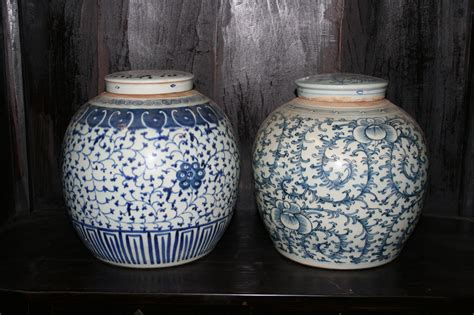 ginger jar blue and white ginger jar orient house