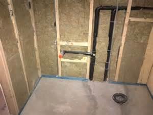 basement bathroom plumbing basement bathroom in