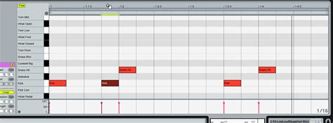 drum beat pattern drum programing with ableton live austin ableton tutor