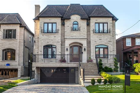 custom build a house custom home builder toronto mahzad homes inc