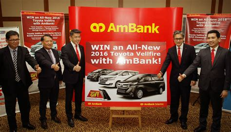 ambank motor insurance ambank teams up with toyota and samsung in cards and