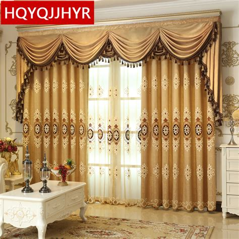 american kitchen curtains 2016 european and american style luxury embroidered
