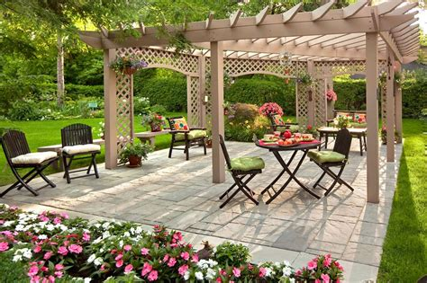 garden patio design ideas frugalicious