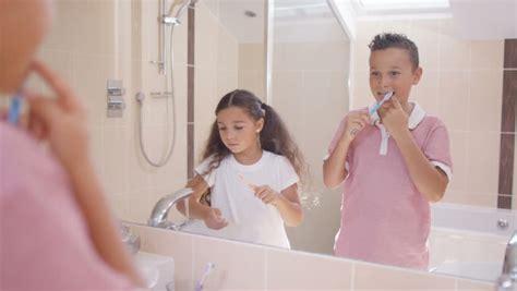 bathroom pov brushing teeth mouth pov stock footage video 4635914 shutterstock