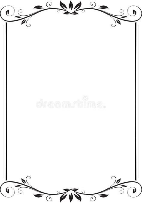 Floral frame stock vector. Illustration of frames, corner ...