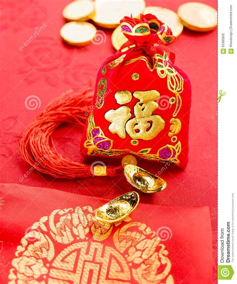 new year ang pow tradition new year decoration felt fabric packet or ang