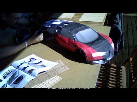 Bugatti Veyron Papercraft - bugatti veyron papercraft