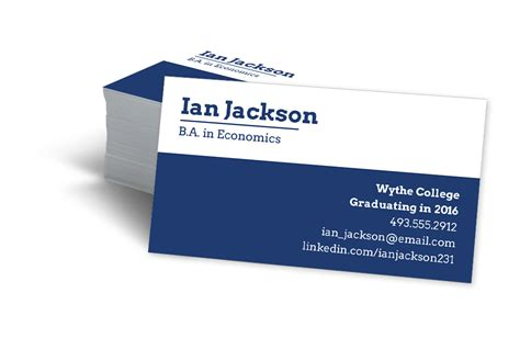 recent graduate student business cards template student business cards typogr phy nfogr ph cs des