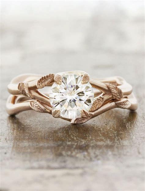leaf shaped wedding ring best 20 leaf engagement ring ideas on simple