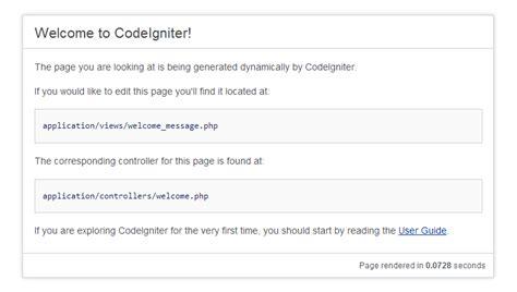 install php tutorial 5 mvc framework codeigniter codebringer install codeigniter webhozz blog