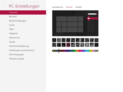 how to change color on windows 8 modern ui how to change windows 8 start background image