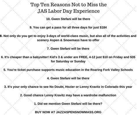 6 reasons to collect twitter jazz aspen snowmass on twitter