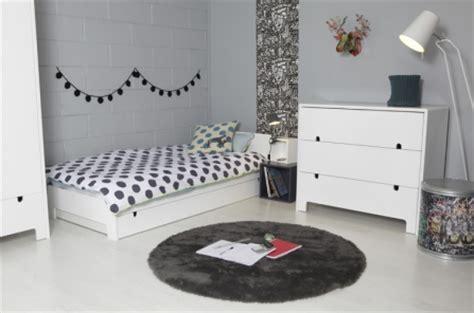 chambre ado fille noir et blanc chambre de fille ado moderne gnial couleur peinture