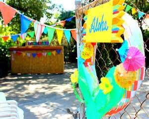 Backyard Luau Ideas Hometalk Backyard Luau Birthday Decor