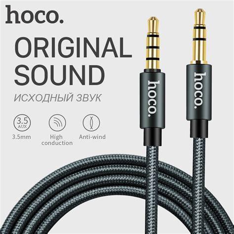 Kabel Mikrofon hoco aux kabel mit mikrofon 3 5mm klinke stecker auf