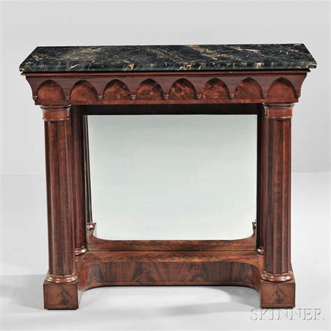 marble veneer table top carved mahogany and mahogany veneer marble top pier table
