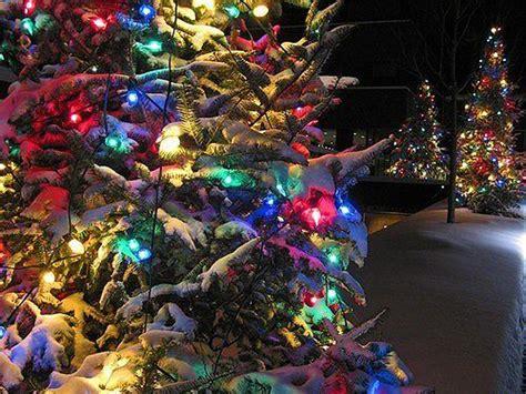 tree decorations beautiful christmas light wallpaper beautiful tree decoration light snow wallpaper 1440x1080 821482 wallpaperup