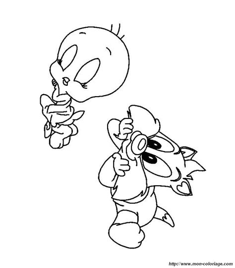 tiny toon adventures free colouring pages