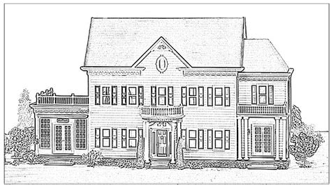 printable coloring pages for adults houses adult coloring pages victorian houses coloring pages