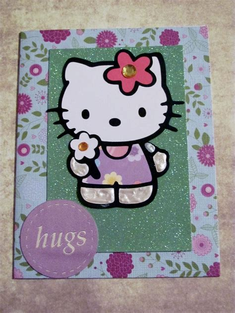 Hello Kitty Gift Card - 138 best cards hello kitty images on pinterest cricut cards fun cards and sanrio