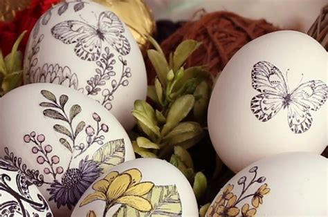 Easter Decoupage - how to make these beautiful af decoupage easter eggs