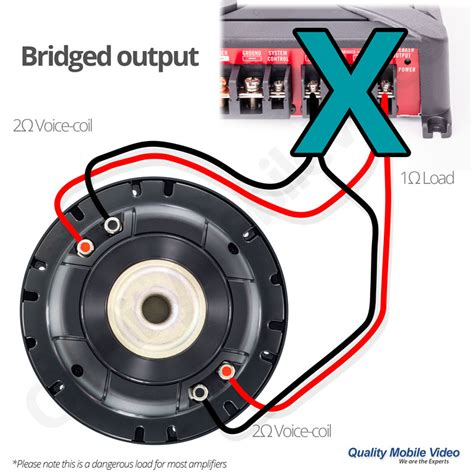 2 ohm dual voice coil wiring diagram 2 free engine image