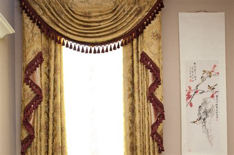 curtains with swags versailles classic is reimagined in this elegant curtain