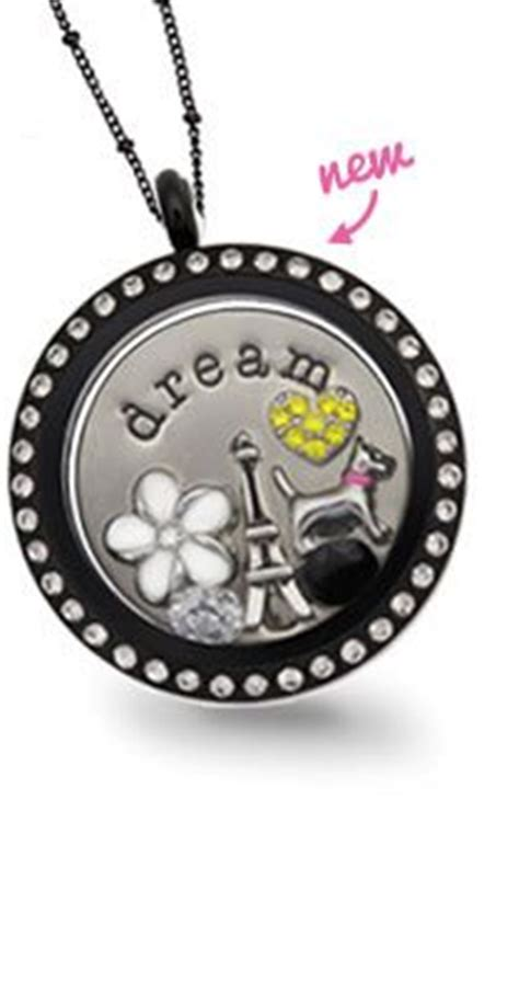 black origami owl locket 1000 images about origami owl lockets on