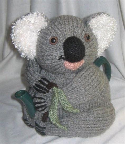 knitting patterns free australia koala tea cosy knitting pattern pdf file by automatic