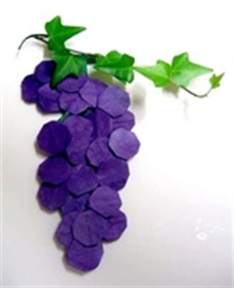 How To Make Paper Grapes - grape seo won seon redpaper gilad s origami page