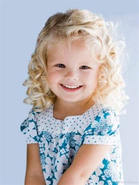 curly toddler hairstyles stylish curly hairstyle for