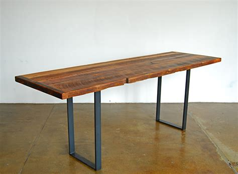 thin dining table with bench dwelling dining tables on pinterest wood dining tables reclaimed