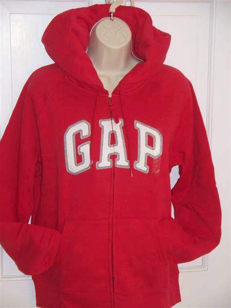 Hoodie Sweater Bhikke Phindar Front Logo gap sweatshirt zip up front arched logo womans hoodie size l nwt sweatshirts hoodies