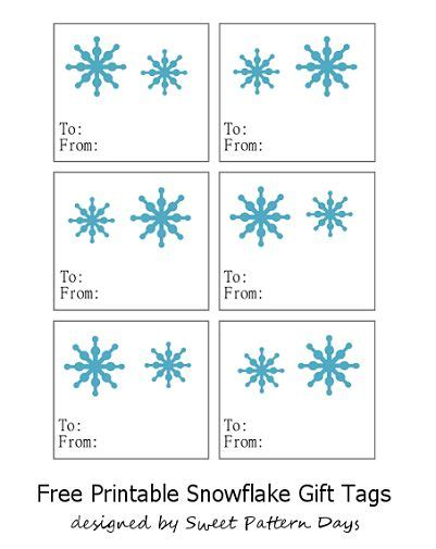 5 winter gift wrap ideas free printable gift tags hey 57 best snowflake gift tags images on pinterest xmas