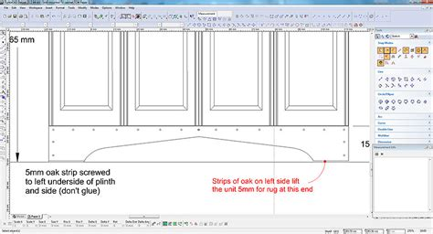 see our design process at charles cabinet co medieval style tv cabinet an unusual design challenge