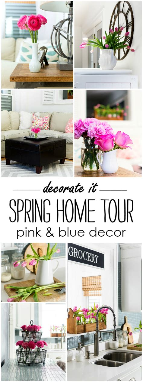 spring home decor 2017 spring decorating ideas with pink it all started with paint