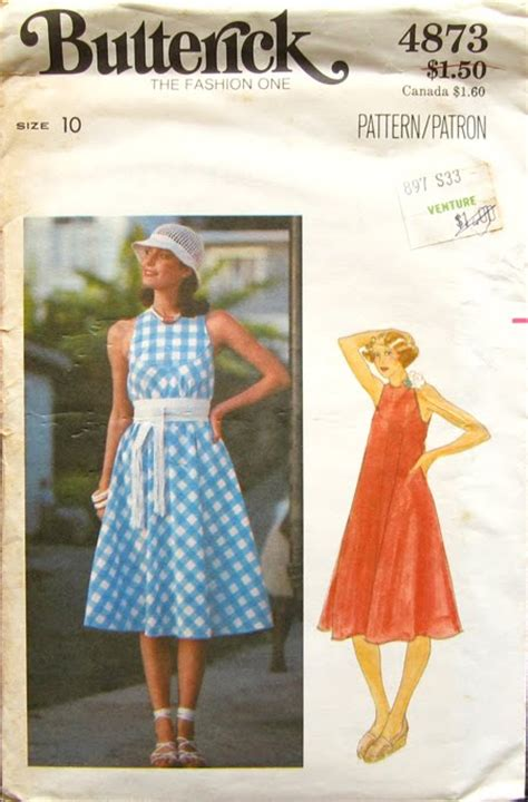 sewing pattern review blog pattern review vintage butterick 4873 sew tessuti blog