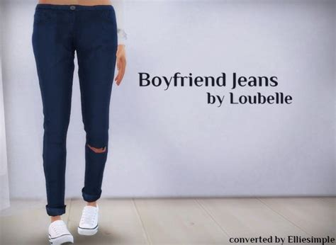 sims 4 cc boyfriend jeans elliesimple boyfriend jeans f bottom cc sims 4