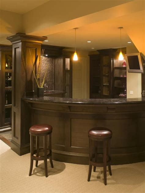 basement bar bar design