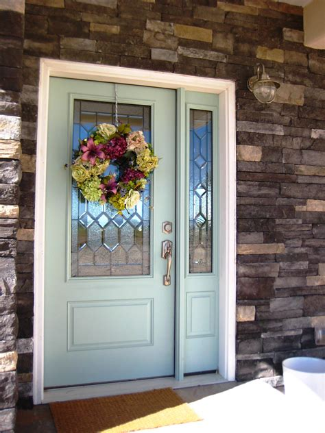 exterior door paint a painted front door the wood grain cottage