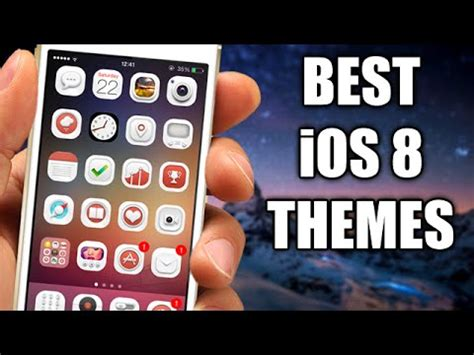 live themes ios 8 best ios 8 jailbreak winterboard themes part 2 youtube