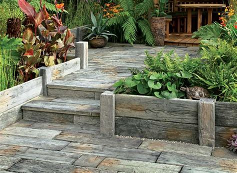 Garden Sleepers Uk by Timberstone Planters And Raised Beds Stonemarket
