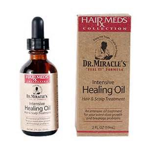 dr miracle hair dr miracle s intensive healing oil hair and scalp