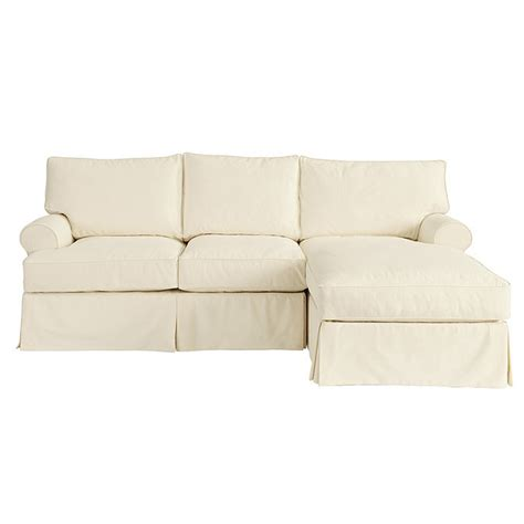 Slipcovers For Sectionals With Chaise by Davenport 2 Sectional With Right Arm Chaise