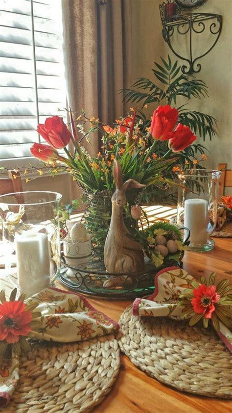 Spring Table Decor Vignette Spring Easter Pinterest Easter Dining Table Decorations