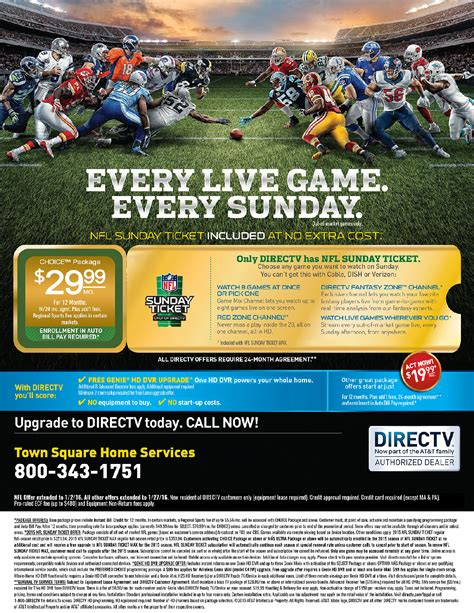 Direct Tv Gift Card Offer - directv offer town square energy