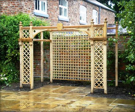backyard trellis designs home garden ideas popular garden trellis styles