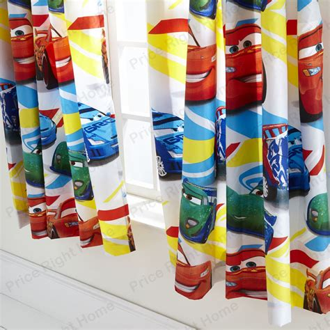 disney cars bedroom curtains new official disney cars speed 72 quot drop ready made